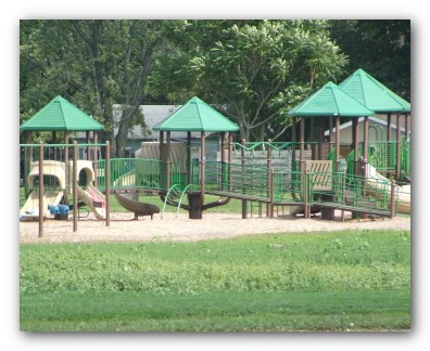 Playground Equipment at Gateway Park
