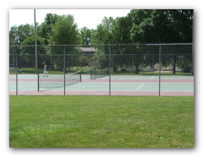 Tennis Courts at Orchard Hill