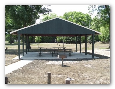 Shelter at Policemans Park