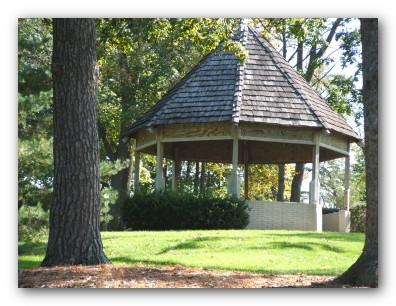 Gazebo at Sartori Park
