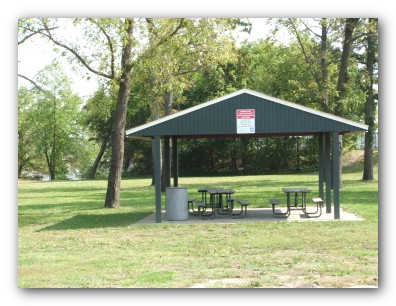 Shelter at Tourist Park